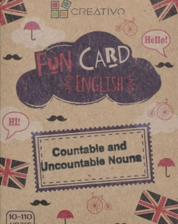 Fun Card English: Countable and Uncountable Nouns