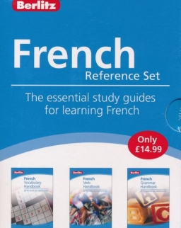 Berlitz French Reference Set - The essential study guuides for learning French