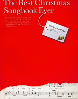 The Best Christmas Songbook ever - ének, zongora, gitár