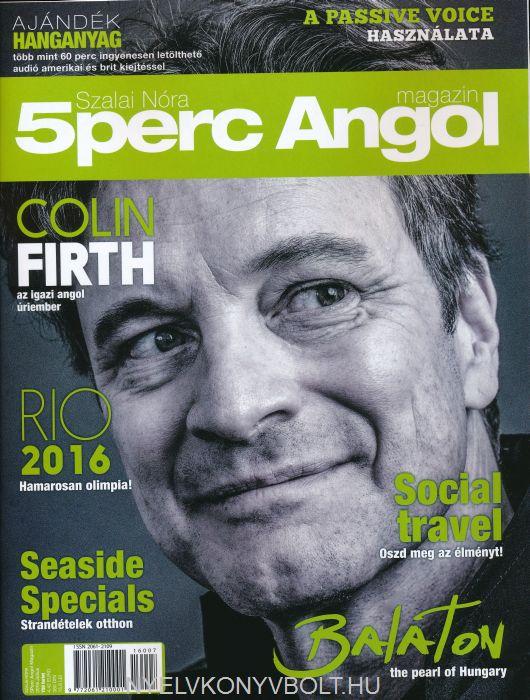 5 Perc Angol Magazin 2016 Július