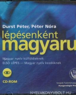 Lépésenként magyarul 1 Magyar nyelv külföldieknek 'Első lépés' CD-ROM