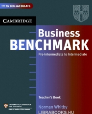 Business Benchmark Pre-Intermediate to Intermediate - for BEC Preliminary and BULATS Editions Teacher's Resource Book