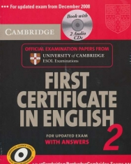 Cambridge First Certificate in English 2 Official Examination Past Papers Student's Book with Answers and 2 Audio CDs Self-Study Pack for Updated Exam 2008 (Practice Tests)