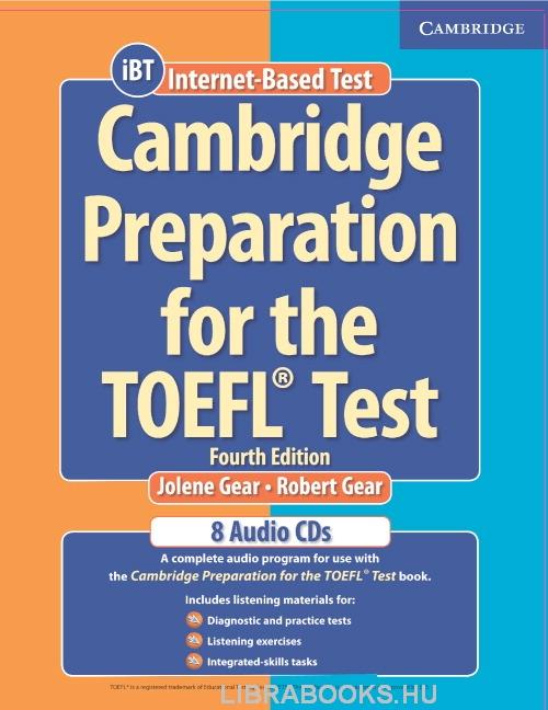 Cambridge Preparation for the TOEFL Test iBT Edition Audio CDs (8)