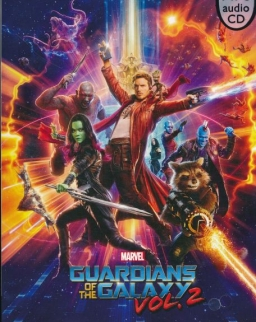 Marvel's The Guardians of the Galaxy Vol.2 with MP3 CD - Pearson English Readers