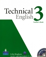 Technical English 3 Teacher's Book with CD-ROM