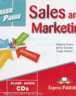 Career Paths - Sales & Marketing Audio CDs (2)