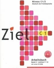 Ziel C1 Arbeitsbuch Band 2 Lektion 7-12 mit CD-ROM