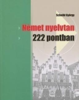 Német nyelvtan 222 pontban (MX-110)