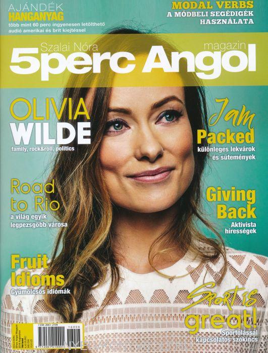 5 Perc Angol Magazin 2016 Augusztus