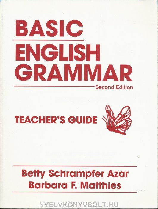 Basic English Grammar Teacher's Guide