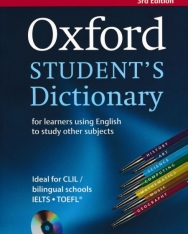 Oxford Student's Dictionary for learners using English to study other subjects with CD-ROM - 3rd Edition