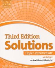 Solutions 3rd Edition Upper-Intermediate Munkafüzet - érettségi felkészítő feladatokkal