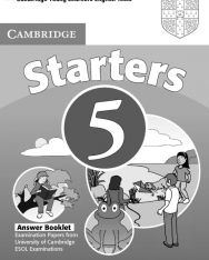 Cambridge Young Learners English Tests Starters 5 Answer Booklet