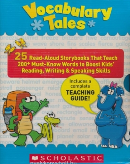 Vocabulary Tales - 25 Read Aloud Storybooks That Teach 200+ Must-Know Words to Boost Kids' Reading, Writing & Speaking Skills with Teaching Guide