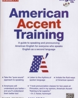 Barron's American Accent Training with 5 Audio CDs 3rd edition