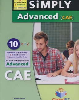 Simply Advanced (CAE) - 8+2 Practice Tests - Student's Book with Answer Key & CD