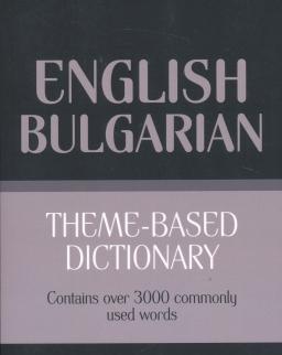 Theme-based dictionary British English-Bulgarian
