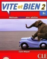 Vite et bien 2 - Méthode Rapide pour Adultes Livre + CD audio