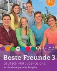 Beste Freunde 3 - Deutsch für Jugendliche - Kursbuch mit Audio CDs (2) - ungarische Ausgabe