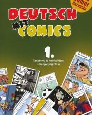 Deutsch mit Comics 1. - Tankönyv és munkafüzet + hanganyag CD-n