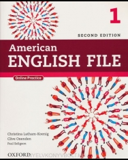 American English File 2nd Edition 1 SB+Oxford Online Skills Program