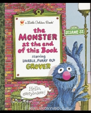 The Monster at the End of this Book - Sesame Street - A Little Golden Book