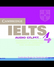Cambridge IELTS 4 Official Examination Past Papers Audio CDs (2)