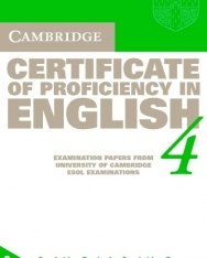 Cambridge Certificate of Proficiency in English 4 Official Examination Past Papers Audio Cassettes (2)