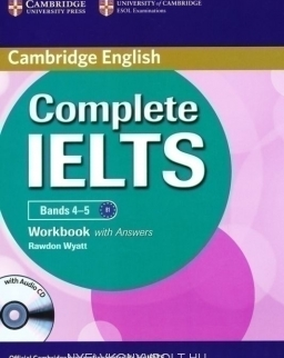 Complete IELTS Bands 4-5 Workbook with Answers & Audio CD