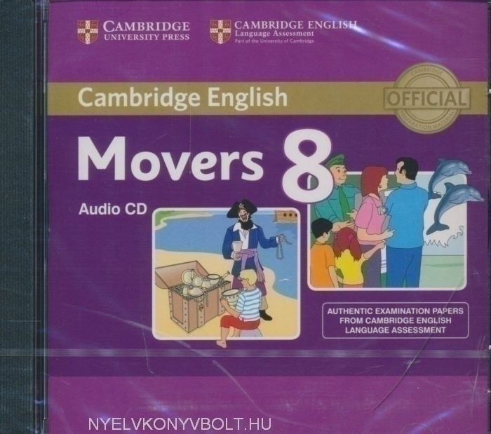 Cambridge English Movers 8 Audio CD