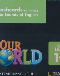 Our World 1-3 Flashcards including The Sounds of English