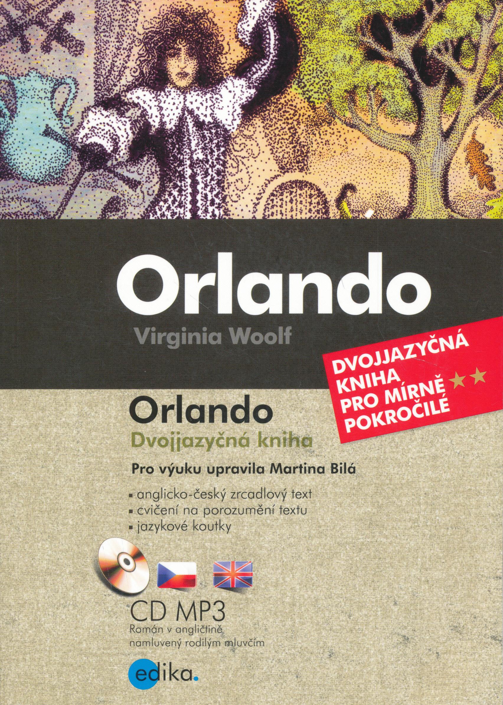 Virginia Woolfová: Dvojjazyčná kniha pro mírně pokročilé + CD MP3