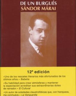 Márai Sándor: Confesiones de un burgués (Egy polgár vallomásai spanyol nyelven)
