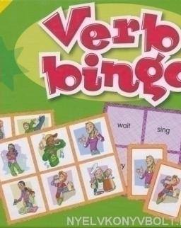Verb Bingo - Let's Play in English (Társasjáték)