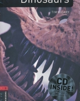 Dinosaurs with Audio CD Factfiles - Oxford Bookworms Library Level 3