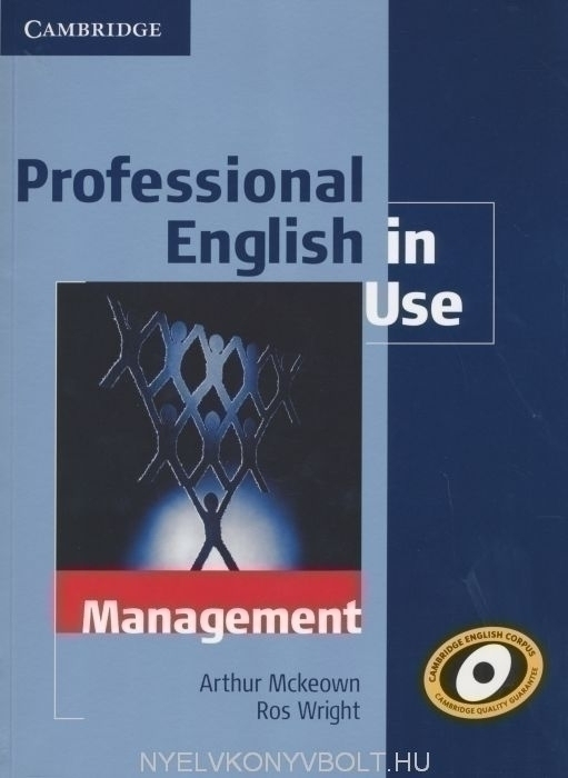 Professional English in Use - Management