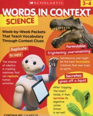 Words in Context: Science - Grades 3-4