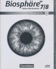 Biosphäre Sekundarstufe I. Gymnasium Baden-Württemberg - Neubearbeitung 7./8. Schuljahr Editierbare Klassenarbeiten auf CD-ROM