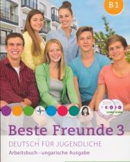 Beste Freunde 3 - Deutsch für Jugendliche - Arbeitsbuch mit Audio CD - ungarische Ausgabe
