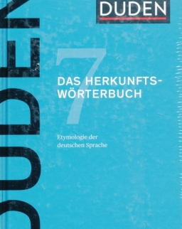 Duden 7. Das Herkunftswörterbuch 5. auflage - Etymologie der deutschen Sprache