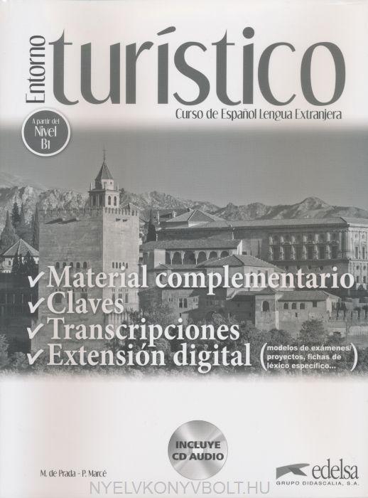 Entorno turístico - Material complementario, claves y transcripciones
