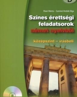 Színes érettségi feladatsorok német nyelvből középszint írásbeli + CD