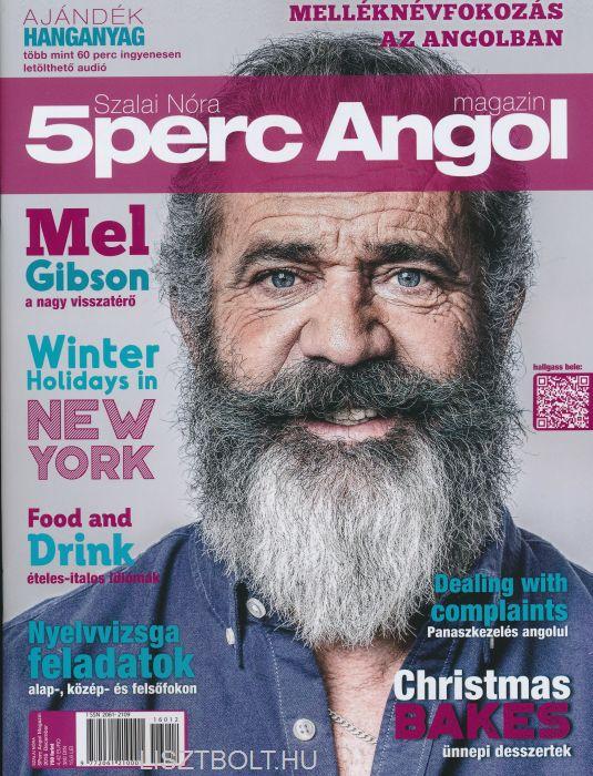 5 Perc Angol Magazin 2016 December