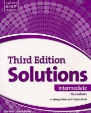 Solutions 3rd Edition Intermediate Munkafüzet - érettségi felkészítő feladatokkal