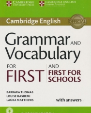 Cambridge English Grammar and Vocabulary for First and First for Schools with answers + Downloadable Audio and Online resources