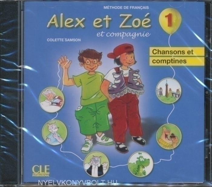 Alex et Zoé et compagnie niveau 1 CD Audio Chansons et comptines Nouvelle Édition