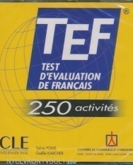 TEF Test D'evaluation de Francais 250 activités CD Audio