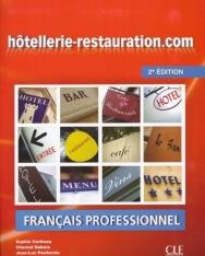 Hotellerie-Restauration.com  - Francais Professionnel Livre de l'éleve avec DVD-Rom 2e édition