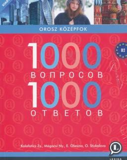 1000 Vaproszov & Otvetov - 1000 kérdés és válasz oroszul - új kiadás